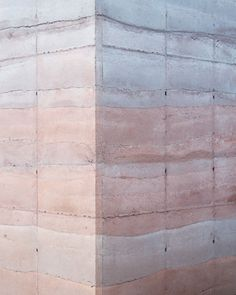 Rose Quartz and Serenity, Pantone Color for 2016 – Tatiana Bilbao, Ajijic House – Interior Design Addict Texture Architecture, Concrete Architecture, Contemporary Architecture, Architecture Details, Interior Architecture, Concrete Facade, Concrete Texture, Concrete Walls, Rose Texture