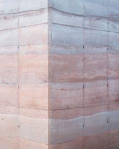 Rose Quartz and Serenity, Pantone Color for 2016 - Tatiana Bilbao, Ajijic House