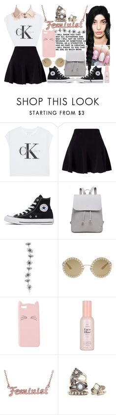 """""So, this is my life. And I want you to know that I am both happy and sad and I'm still trying to figure out how that could be."""" by xxunicorn-loverxx ❤ liked on Polyvore featuring Calvin Klein Jeans, Miss Selfridge, Converse, Dolce&Gabbana, Charlotte Russe, Etude House and me you"