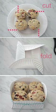 Creative use of the paper plates