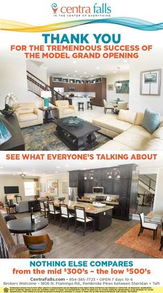 Beautiful new townhomes in Pembroke Pines at Centra Falls from the mid $300s. See what all the fuss is about!