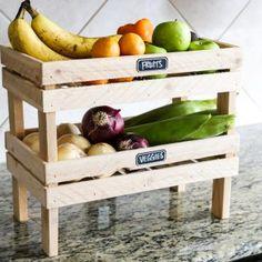 Stackable Fruit & Veggie Crates