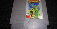 """Castlevania"""" - NES - R$ 220. No Museu do Videogame"""
