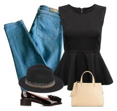 """Set nº433"" by mari-ia ❤ liked on Polyvore featuring Sandro, Hipanema, Rochas and Calvin Klein"