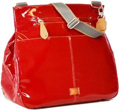 PacaPod Oban - Red Patent