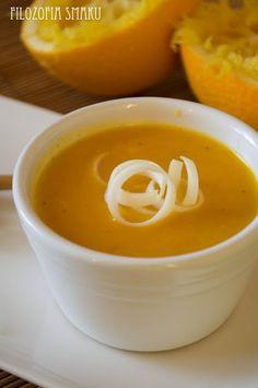 Zupa marchewkowo-pomarańczowa (GP Singapuru) - Filozofia Smaku