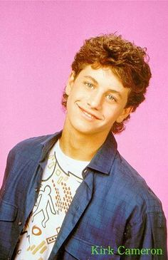 kirk cameron. my first crush ever.