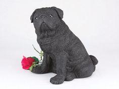Pug, Black CS2770 Urn