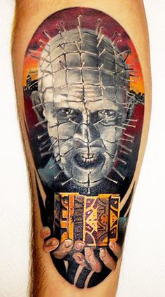Tattoo Artist - Andrey Grimmy - movies tattoo | www.worldtattoogallery.com