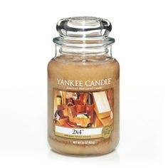 2X4: Yankee Candle:  The warm, unmistakable scent of freshly planed wood and sawdust evokes a sense of confidence and quality.