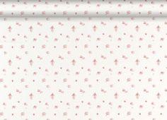Abbeville Floral Wallpaper, Pink/Natural
