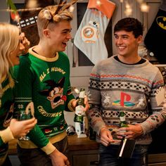 Official PlayStation Console Christmas Jumper / Ugly Sweater | Free UK Delivery | Yellow Bulldog