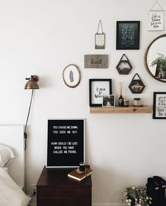 gallery wall ideas   #interior #apartment #hipster #grunge #style #decor
