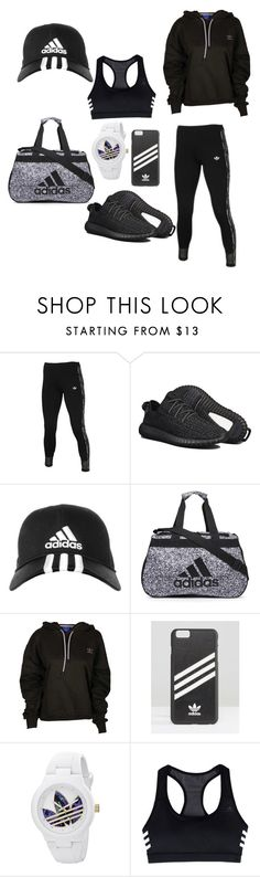 """Adidas"" by untoldseecrets ❤ liked on Polyvore featuring adidas"