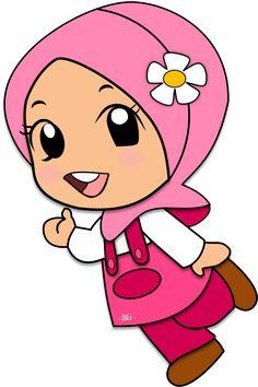 Gambar Mewarnai Anak Muslim 3 Anak Soleh Pinterest Muslim