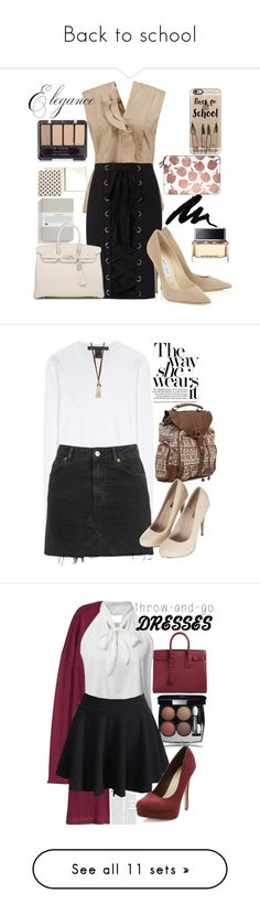 """""""Back to school"""" by erohina-d ❤ liked on Polyvore featuring beauty, Marni, Exclusive for Intermix, Givenchy, Hermès, Casetify, Kate Spade, Marc by Marc Jacobs, Billabong and Topshop"""