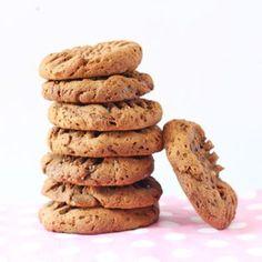 4 Ingredient Chocolate Chia Cookies