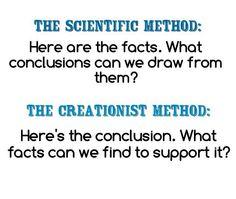 #science #creationism Scientific Method, Evolution, Facts, Science