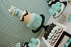Breakfast at Tiffany Partido por Cakes