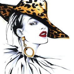 Creative director, fashion illustrations, fashion sketches, elle decor, how Fashion Illustration Face, Woman Illustration, Fashion Illustrations, Art Sketches, Art Drawings, Fashion Art, Girl Fashion, Fashion Design Sketches, Female Art