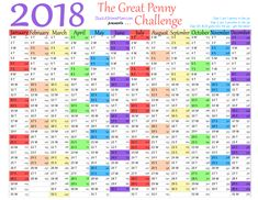 The Great Penny Challenge 52 Week Money Challenge, Money Tips, Saving Money, Budgeting, Challenges, Kids, Hair, Beauty, Young Children