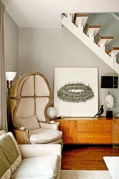 Un appartement d'artiste à New York   PLANETE DECO a homes world