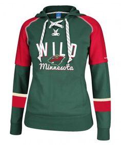 79de9767f1d880 Minnesota Wild Women s Core Hooded Sweatshirt - Women s - Minnesota Wild  Hockey Wife