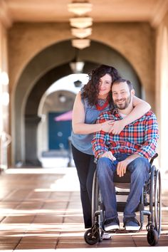 Our wheelchair engagement photo shoot.