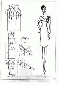 Chinese method of pattern making- Dresses, dresses,dresses ( beginning from the 80s) - SSvetLanaV - Picasa Web Albums