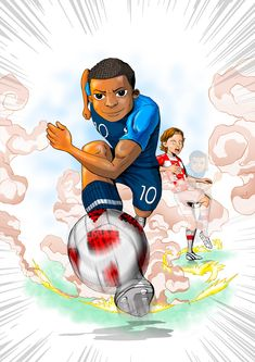 MBAPPE ilustración. Best Football Players, Soccer Players, As Monaco, Ronaldo, Mbappe Psg, Soccer Drawing, Soccer Art, Person Drawing, Paris Saint Germain