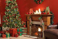 arvore natal chimenea - Buscar con Google