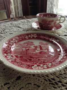 """I added """"Spode Pink Tower and the Carmen Connection"""" to an #inlinkz linkup!http://carolinajewels-table.blogspot.com/2014/03/spode-pink-tower-china-and-carmen.html"""