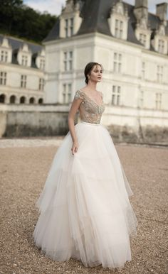"Alon Livne White - 2016 Collection - ""Royal"" dress."