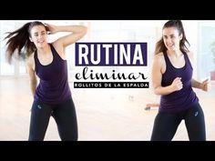 Eliminar rollitos de la espalda y de los brazos - YouTube