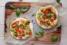 Maria Uldahl - Grønn matglede: Hvit pitapizza