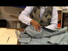 Master Tailoring Tip: Lowering the Back Collar to Get Rid of Excess Fabric Roll on a Jacket - YouTube