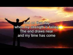 Perfect. Just what I needed tonight before falling asleep.   10,000 Reasons (Bless the Lord) - Matt Redman (Best Worship Song Ever) (with Lyrics) - YouTube