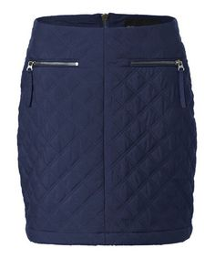 Another great find on #zulily! Navy Moto Mini Skirt #zulilyfinds