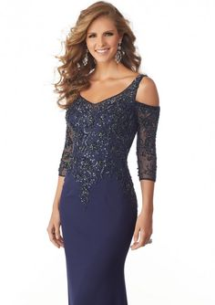 ac06eb653ad Mori Lee 71828 Dress - MadameBridal.com Mob Dresses