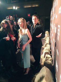 .@jasonsfolly & @AnneHeche are picture perfect at the DIG World Premiere. #DigDeeper