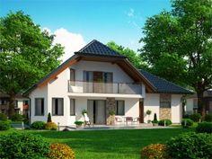 Pavla 9 | Ekonomické stavby Bungalow House Plans, Pavlova, Home Fashion, How To Plan, Mansions, House Styles, Tuna, Home Decor, Architecture