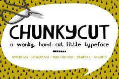 ChunkyCut by Zoë Ingram on @creativemarket