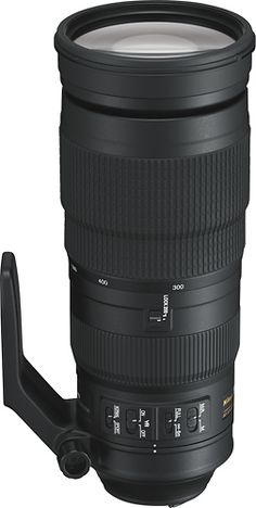 Shop Nikon AF-S NIKKOR ED VR Super Telephoto Zoom Lens Black at Best Buy. Find low everyday prices and buy online for delivery or in-store pick-up. Camera Hacks, Camera Nikon, Camera Gear, Camera Shop, Nikon D500, Full Frame, Action Sport, Nikon Lenses, Dslr Photography Tips
