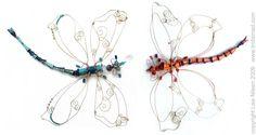 bead dragonflies