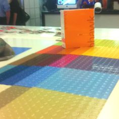 Mohawk Hard Surfaces, samples on view showroom 377 #NeoCon12 #neoconography