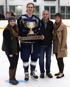 North Vancouver Wolf Pack Junior Hockey Team PJHL Champs 2015 Mitch Crisanti