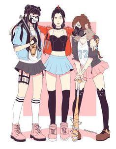Mai, Ty Lee and Azula