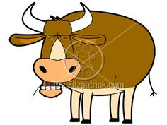 Cartoon Cow Clipart Character   Royalty Free Cow Picture Licensing.