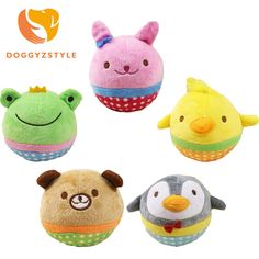 Cute Animal Designs Dog Toys Pet Puppy Chew Squeaker Squeak Plush Sound Toy For Small Dogs Cats Yorkie Pet Products DOGGYZSTYLE-in Dog Toys from Home & Garden on Aliexpress.com | Alibaba Group