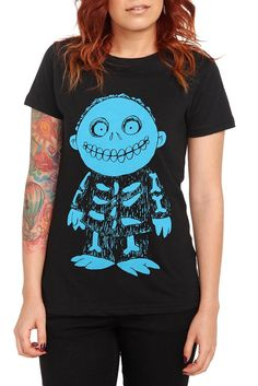 The Nightmare Before Christmas | Pop Culture ooomggg http://www.hottopic.com/hottopic/PopCulture/TheNightmareBeforeChristmas//Disney+Nightmare+Before+Christmas+Barrel+Girls+T-Shirt-131010.jsp